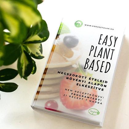 Easy Plantbased eBook - bevásárlólistával