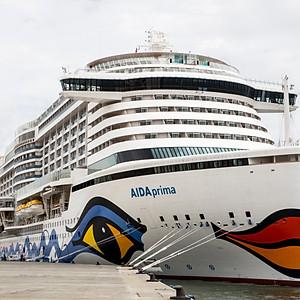 Evento a bordo do Aida Prima