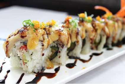 BAKED ALBACORE ROLL