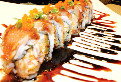 SPECIAL CRUNCH ROLL