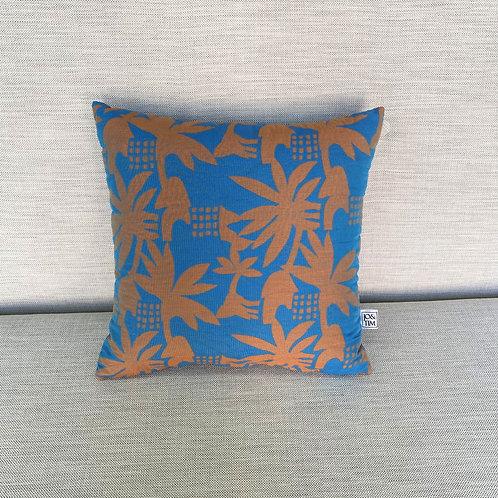 Blue kids cushion