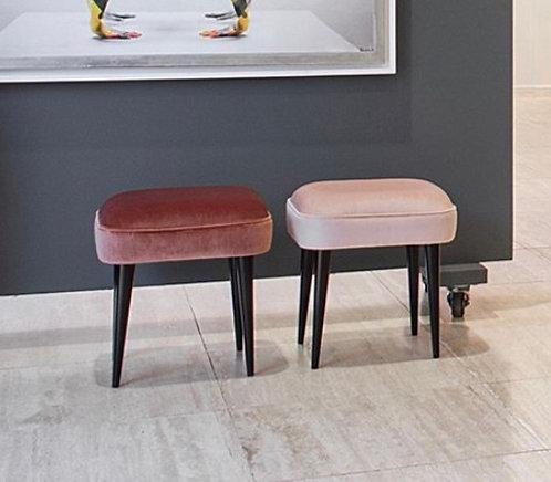 Rectangular four-legged stool