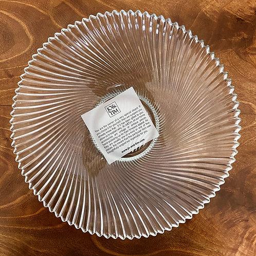 Shallow salad bowl