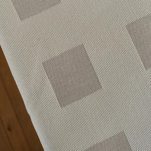 Tablecloth - 2 shades beige fabric