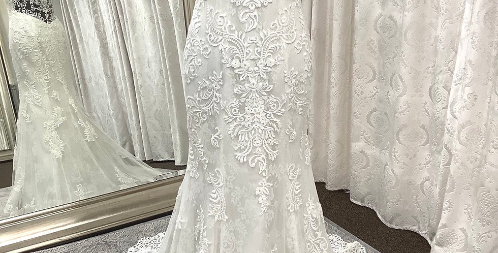 9615, Wtoo 16115 size 6, ivory-oyster