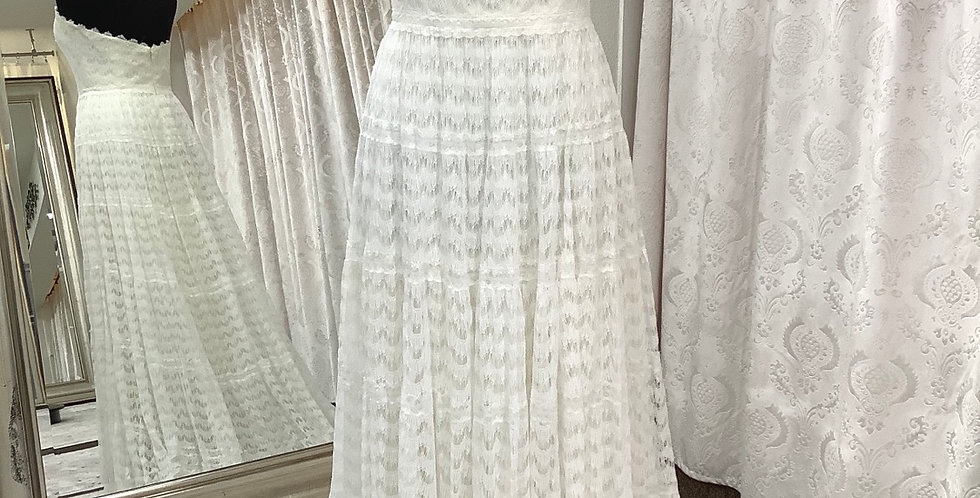 0057, Willowby 54118 size 10 ivory