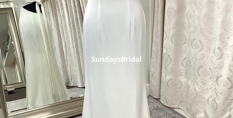 0658, SundaysBridal size 8 ivory , informal