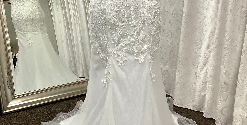 9312, Private Collection 2264 size 20 ivory