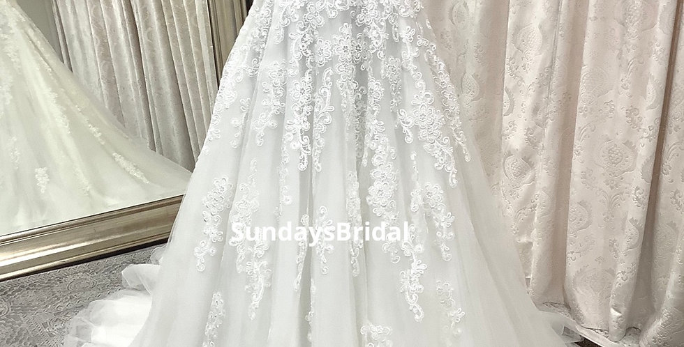 0120, Franssical 1511 size 0 ivory