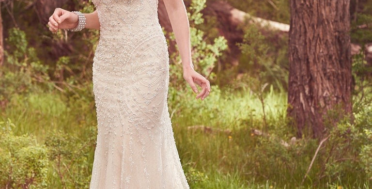 0183, Maggie Sottero 7ms433 size 12 ivory