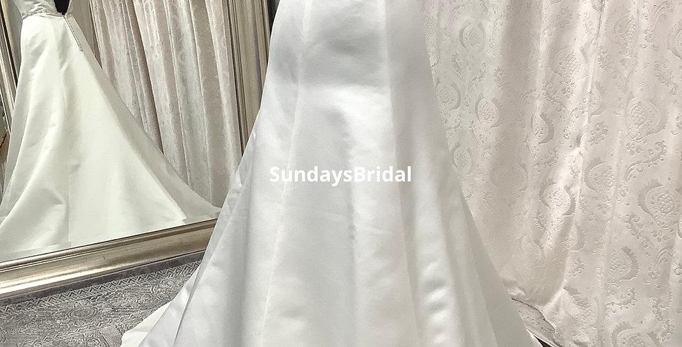 0861, SundaysBridal 108 size 2 ivory