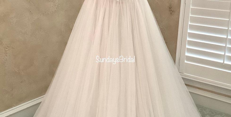 0016, Watters 2073b Marlia size 6, 10 ivory-blush