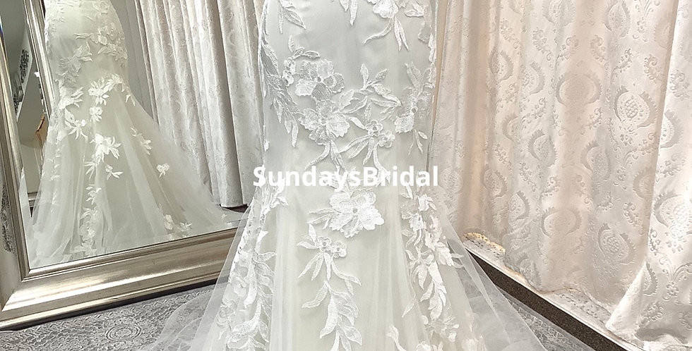 0227, Wtoo 14710 size 2 ivory-oyster