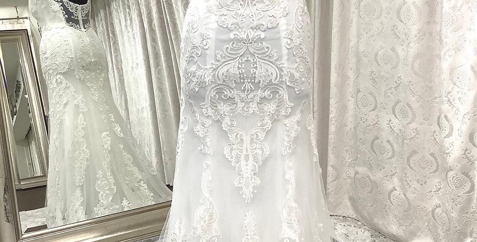 8830 LL Design 17051 size 16 ivory