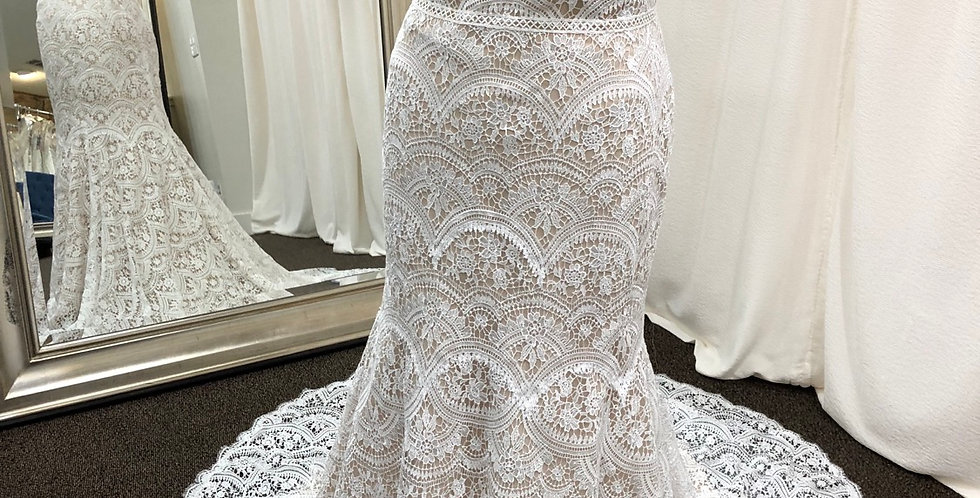 9176, Wtoo 12118r Arliss size 14, 18 ivory-nude