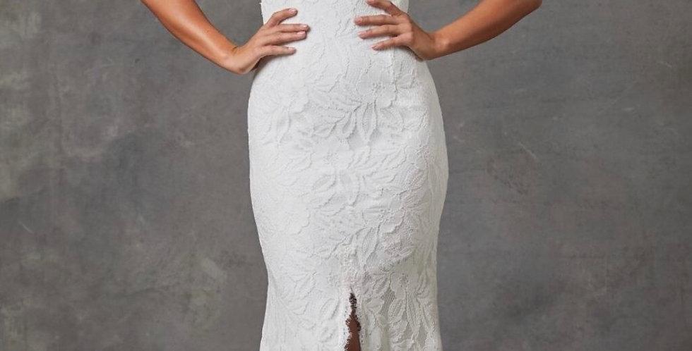 0497, Tania Olsen 238 size 16 ivory