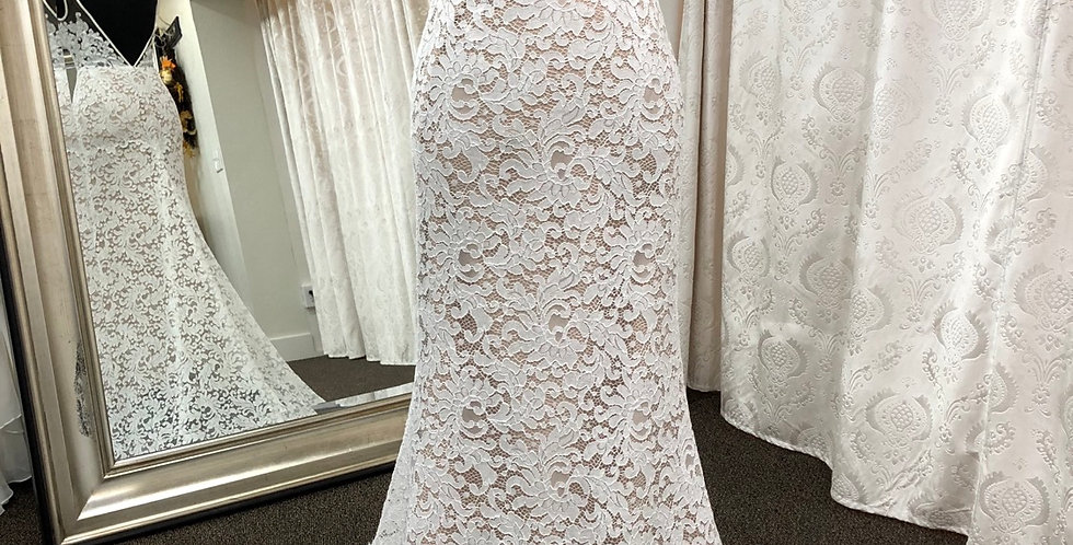 0611, Willowby 51111 size 2, 6, 18 ivory-nude
