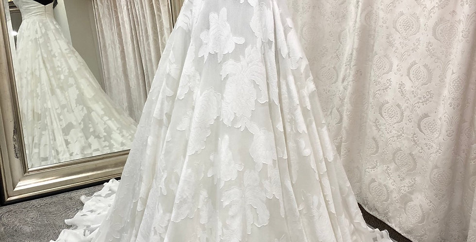 9682, Watters 9030 size 6, 10 Diamond white