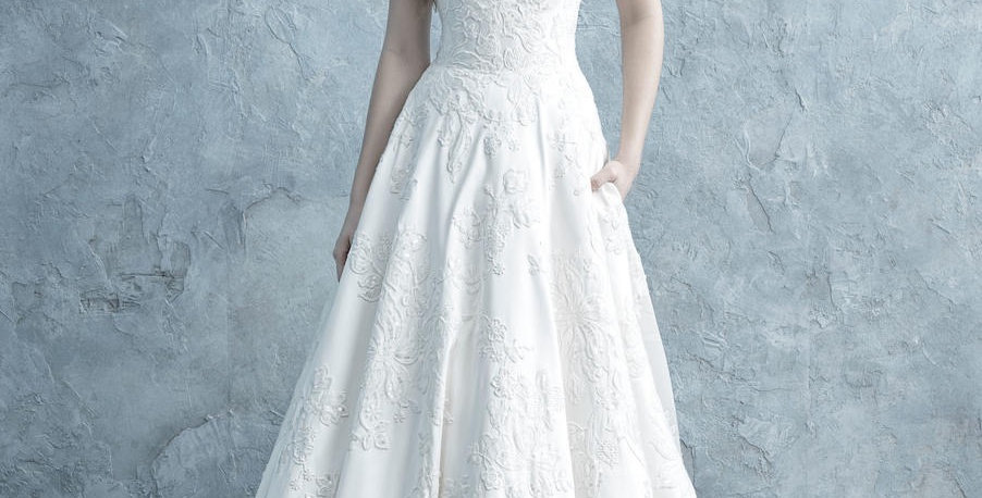 0803, Allure 9650 size 8, 12 ivory