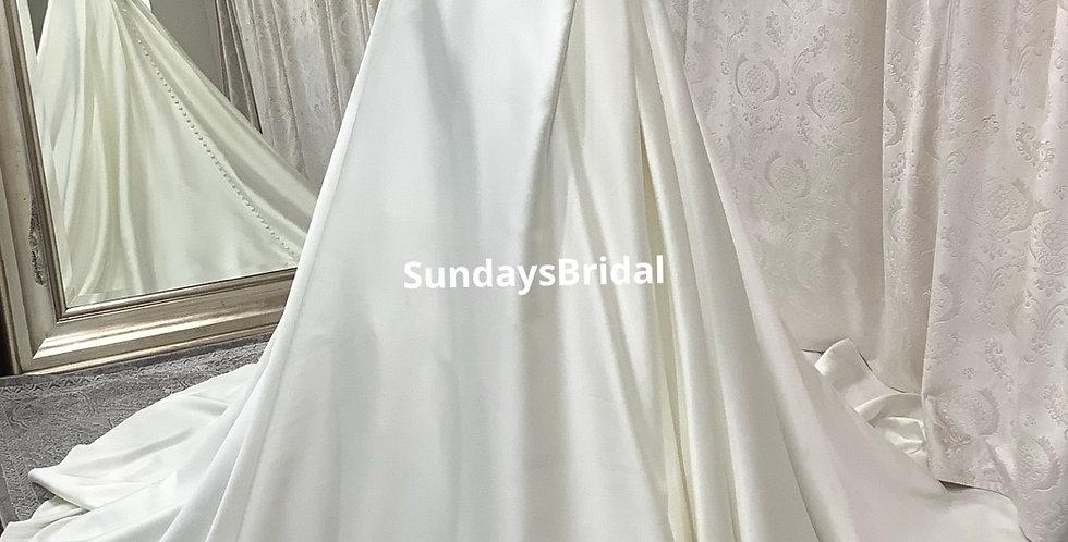 0865, SundaysBridal 175 size 4 ivory