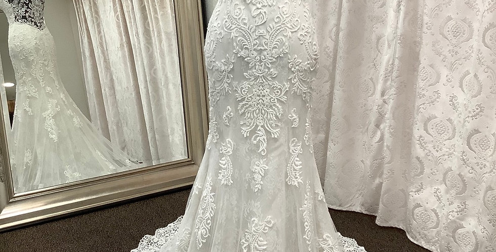 9269, Wtoo 18115 size 6 ivory-oyster