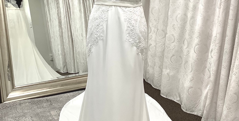 9792, Willowby 59420 size 2, 6 ivory