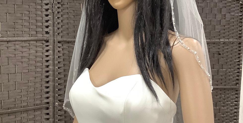 VE1st3030 1 layer fingertip ivory