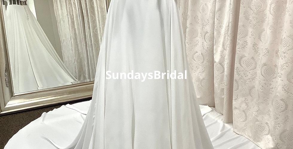 0427, SundaysBridal 942446 size 4 ivory