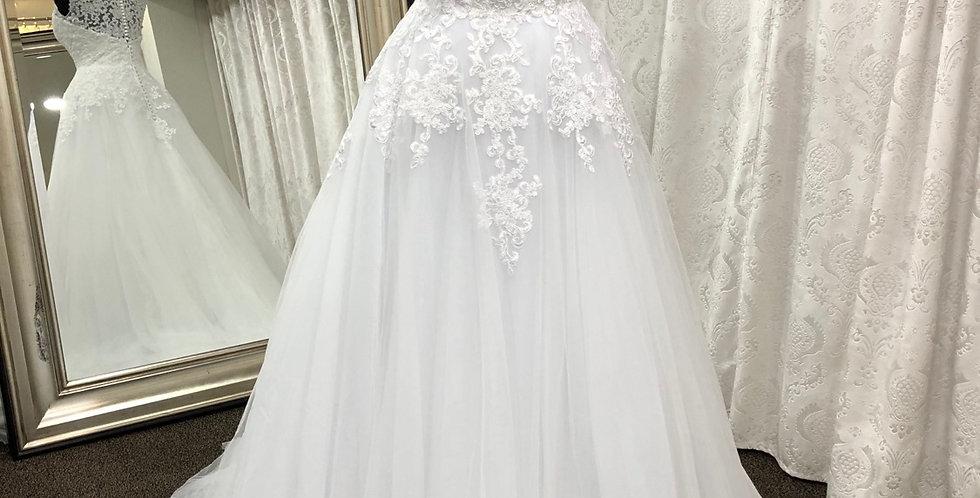 9592, Esme 103 size 2,  20 white