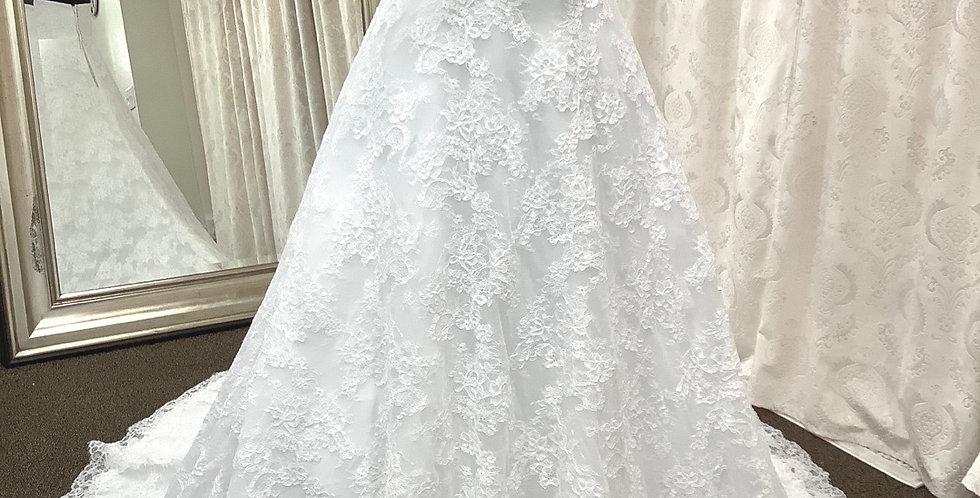 8253, DaVinci 50302 size 12 white