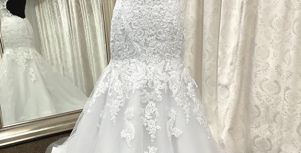 8599, Mary 1660 size 10 white