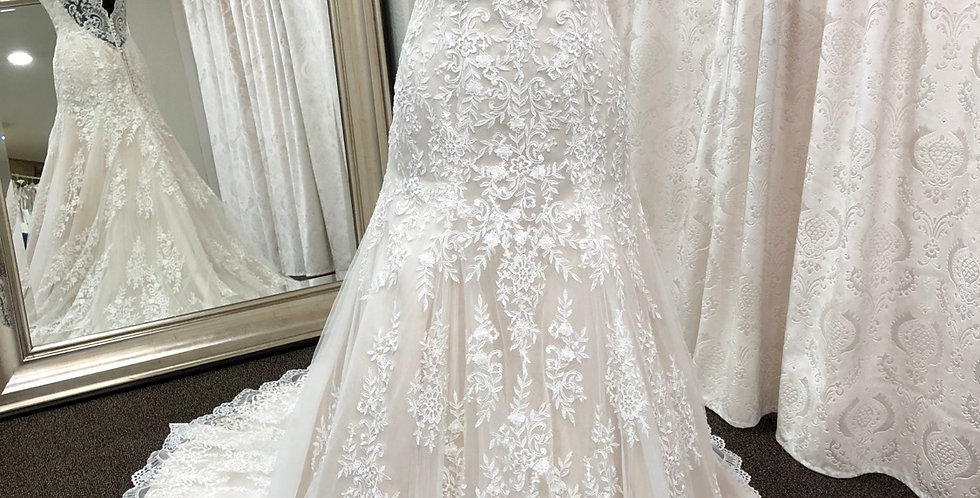 9305, Moonlight 1293 size 12 ivory-nude