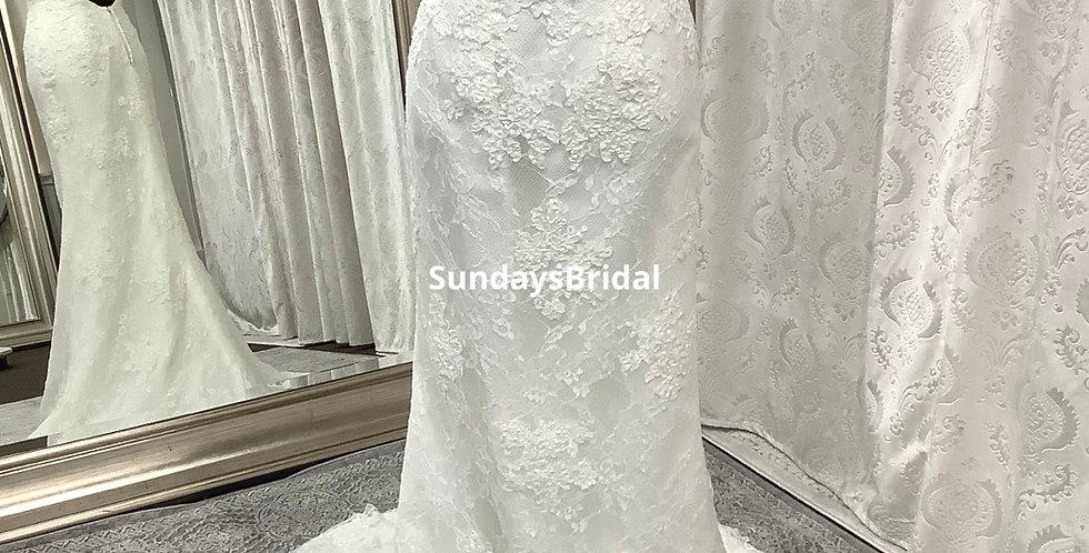 0353, Maggie Sottero size 4 ivory