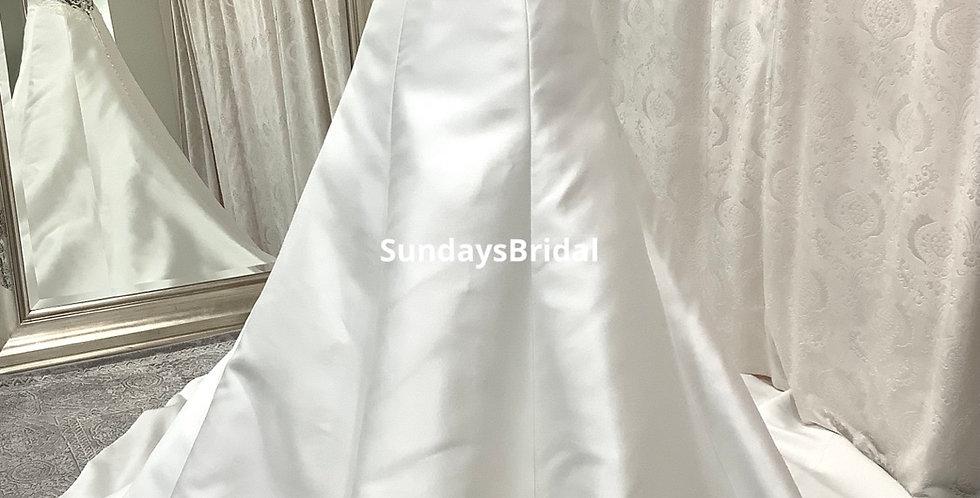 0859, SundaysBridal size 4 ivory