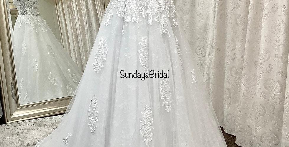 0184, Private Collection 3282 size 22 white