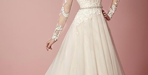 0594, Jacqueline exclusive 19049 size 8, 12 ivory