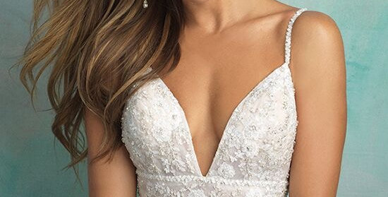 0337, Allure 9526 size 12 Nude-Ivory