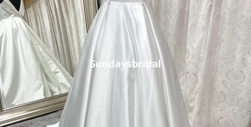 0506, Sundaysbridal 9898 size 12 ivory