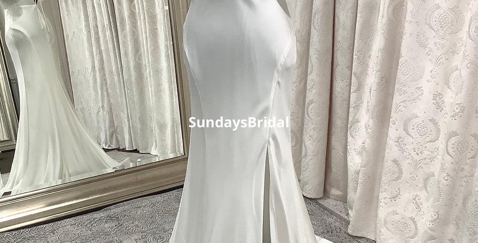 0537, SundaysBridal 31362 size 2 ivory