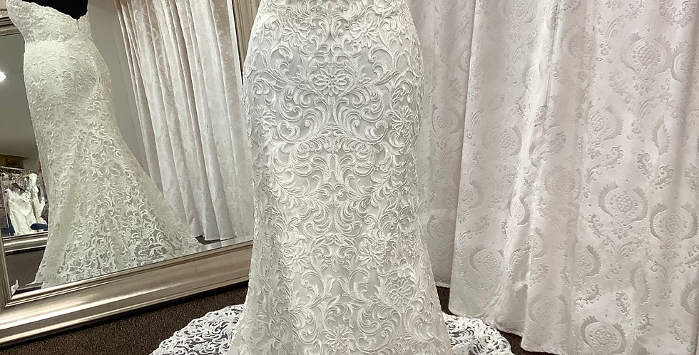 9557, Watters 2015b size 6,  10, 18 ivory-oyster