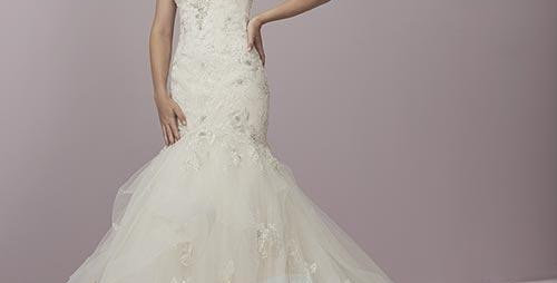 0672, Private collection 18054 size 10 ivory -blush