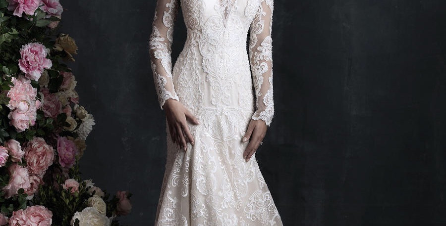 8257, Allure C406 size 12 ivory-champagne