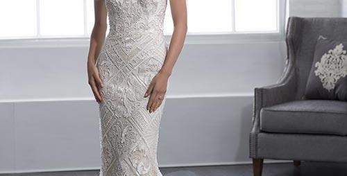 0072, Christina Wu 15665 size 10 ivory-pale blush