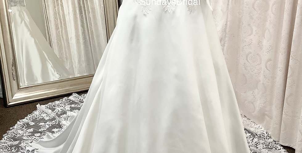 0179, Call for Pricing , SundaysBridal 3034 size 22 ivory