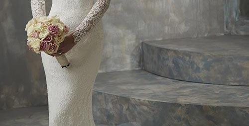 9996, Christina Wu 19125 size 4, 16 ivory-nude