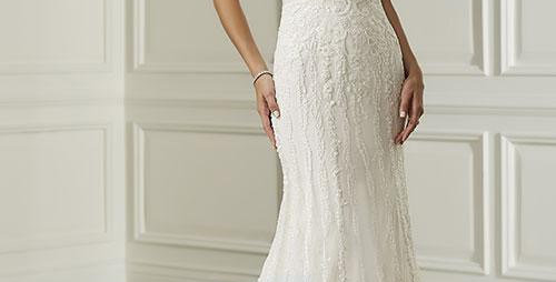 0677, Adrianna Papell 31106 size 14 ivory