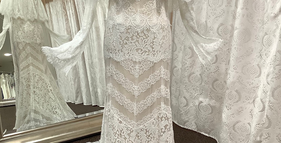 9731, Willowby 50101 size 6 ivory-nude