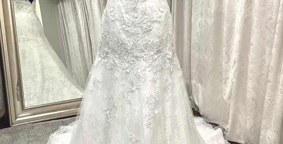 9001, Franssical 6503 size 10 ivory