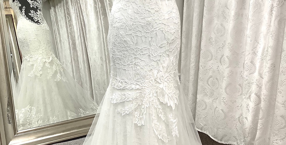 9534, Private Collection 18120 size 12 ivory