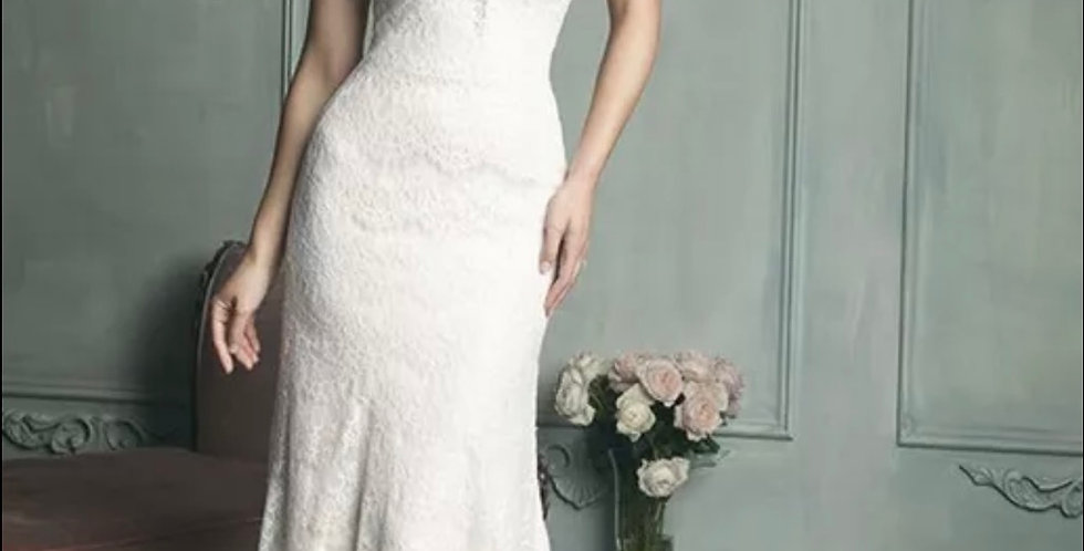 0629, Allure 9107 size 10 ivory -champagne